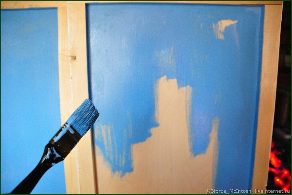 Как сделать так чтоб краска не смывалась 511
