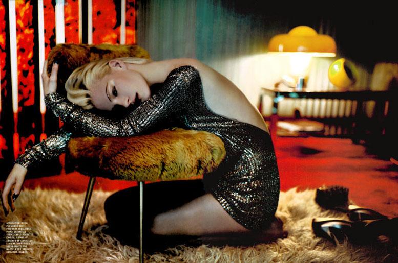 модель Кверелле Дженсен / Querelle Jansen, фотограф Javier Vallhonrat