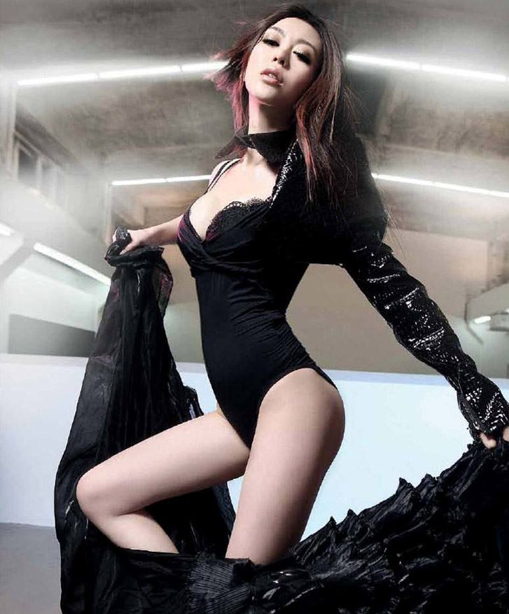 Miumiu Gong Xinliang in FHM China february 2010