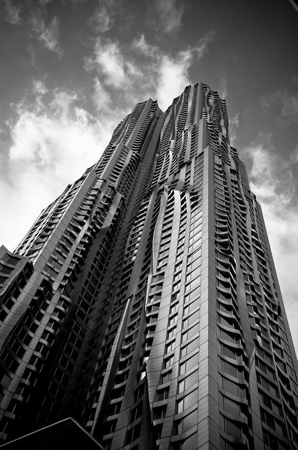 Frank Gehry's Beekman Tower in NYC