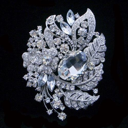 Брошь Swarovski Crystal - LJILJANA