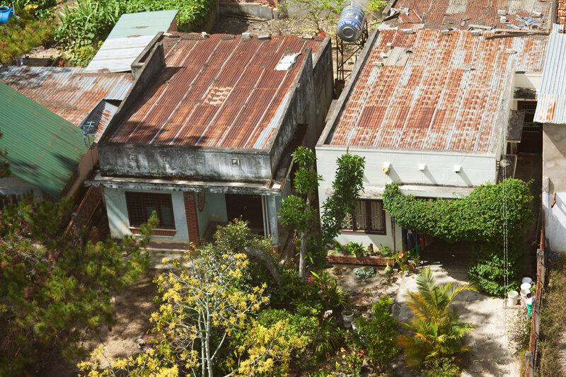 Жилые дома в пригороде