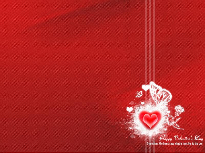 День Святого Валентина. Обои на рабочий стол.