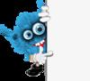 Blue Monster over White Background [преобразованный].png