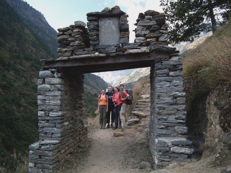 Кани – тибетская каменная арка.