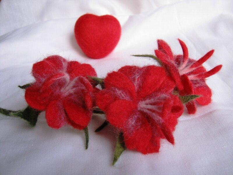 """Цветочек """"Валентинка"""""""
