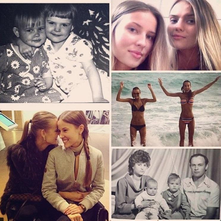 Екатерина Григорьева и семья
