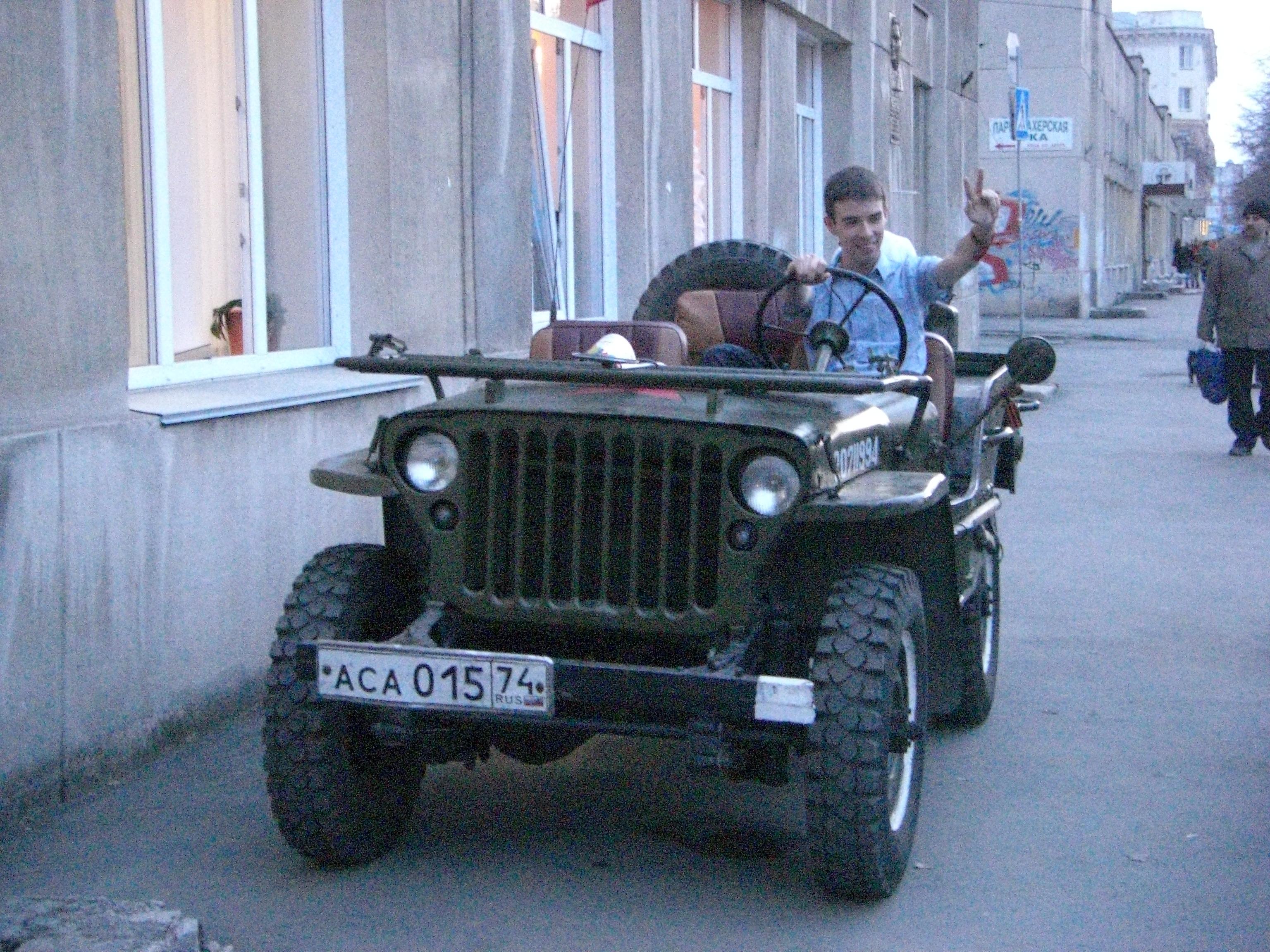 Автомобиль Willys Виллис вЧелябинске