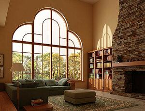Окна в частном доме