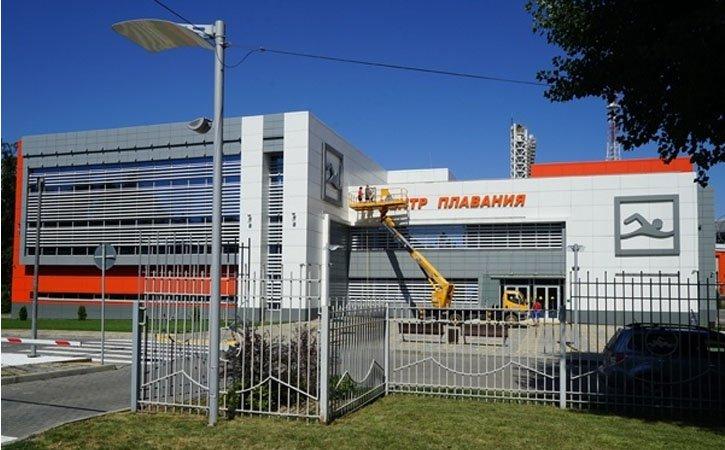 ВКраснодаре состоялось открытие бассейна устадиона «Кубань»