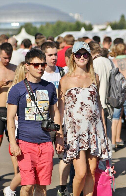 Посетители Red Bull Flugtag 2015