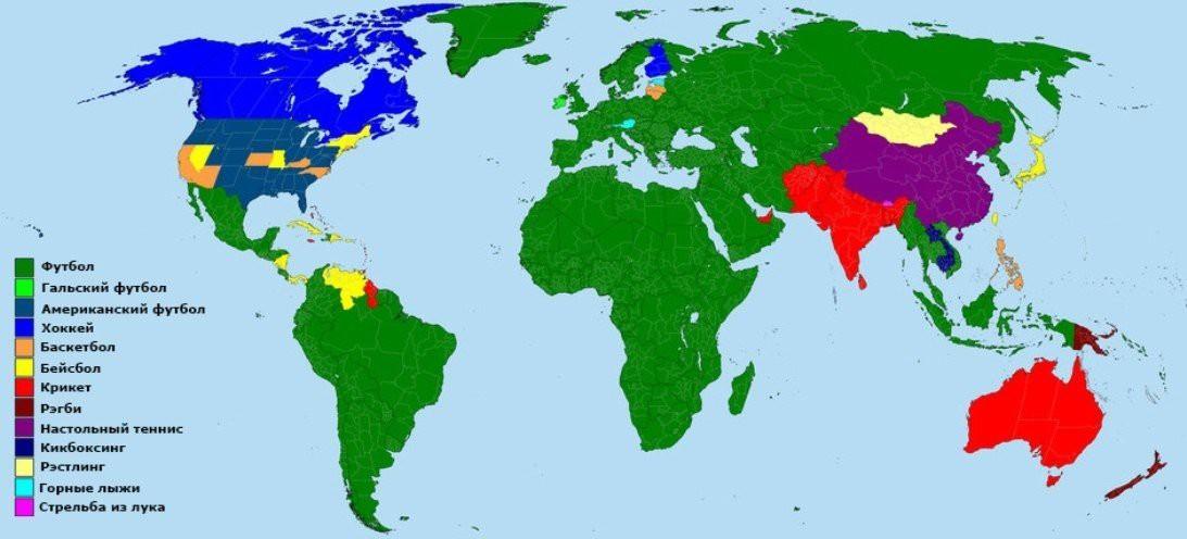 Карта мира, созданная Абрахамом Ортелием, автором первого в истории географического атласа совр