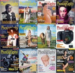 Asian Photography Magazine №1-№12 2012