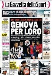 Журнал La Gazzetta dello Sport  (12 dicembre 2014)