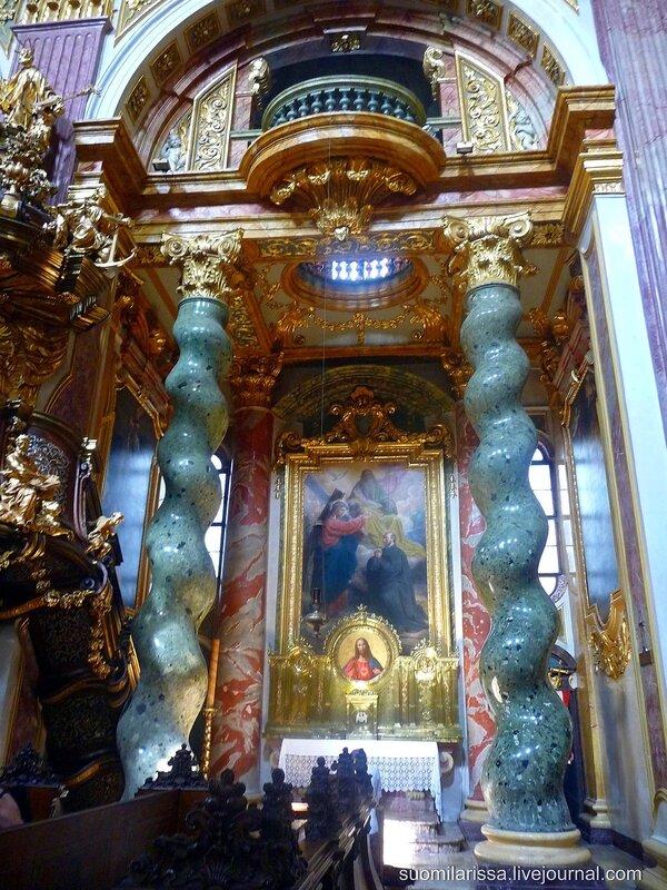 Церковь Иезуитов, 1631 г.