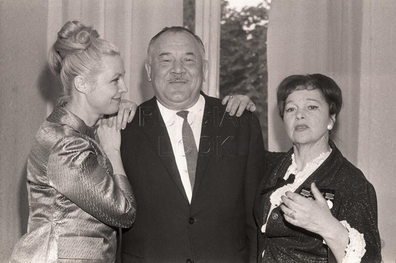 Вия Артмане, Борис Андреев, Вера Марецкая