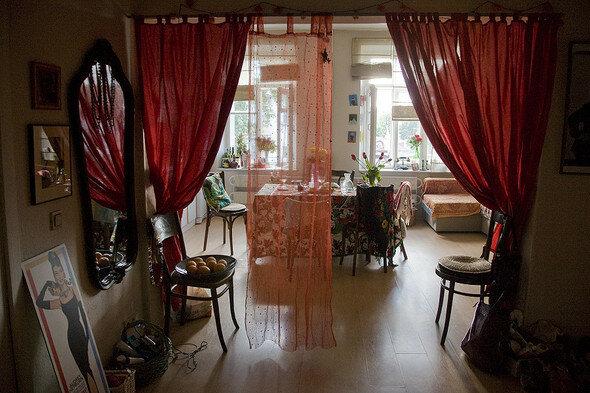 Квартира в Хитровском переулке, в которой живет продюсер Бланш Ньюман.