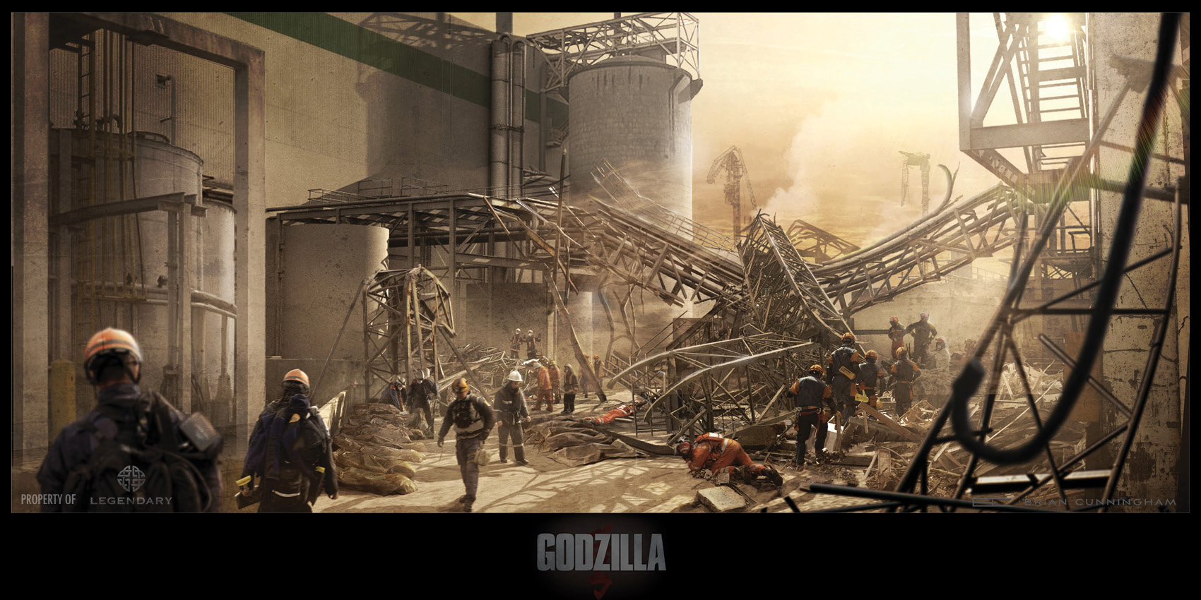 Godzilla Concept Art by Brian Cunningham (10 pics)