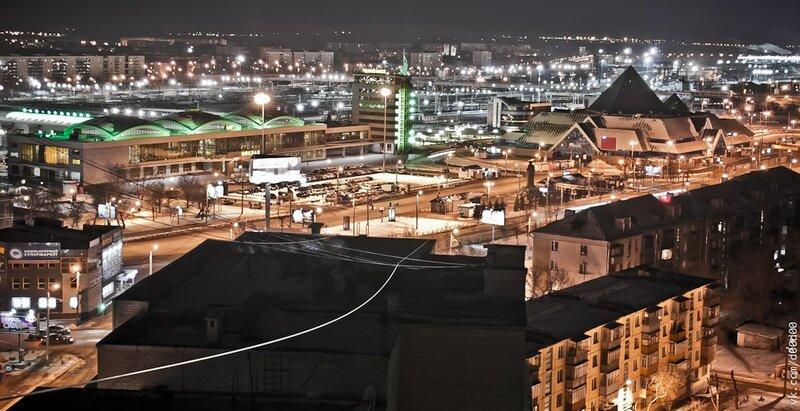 Челябинск с высоты. Автор: Павлов Никита