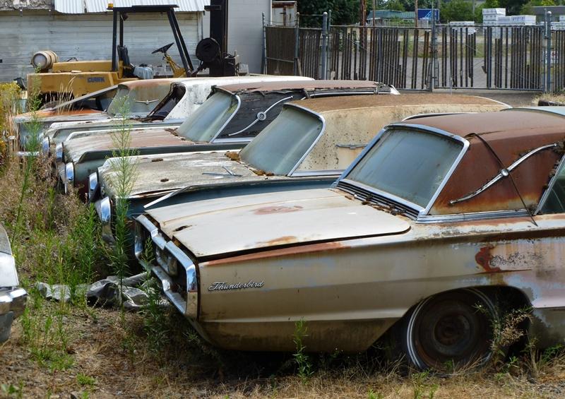 Автомобильное кладбище в Орегоне
