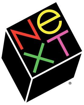 Логотип фирмы NeXT, созданной Стивом Джобсом после ухода из Apple, который стоил ему 100 тысяч долларов