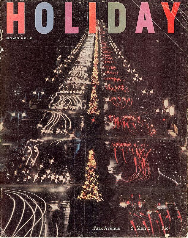 Holiday Magazine.Park Avenue, December 1953