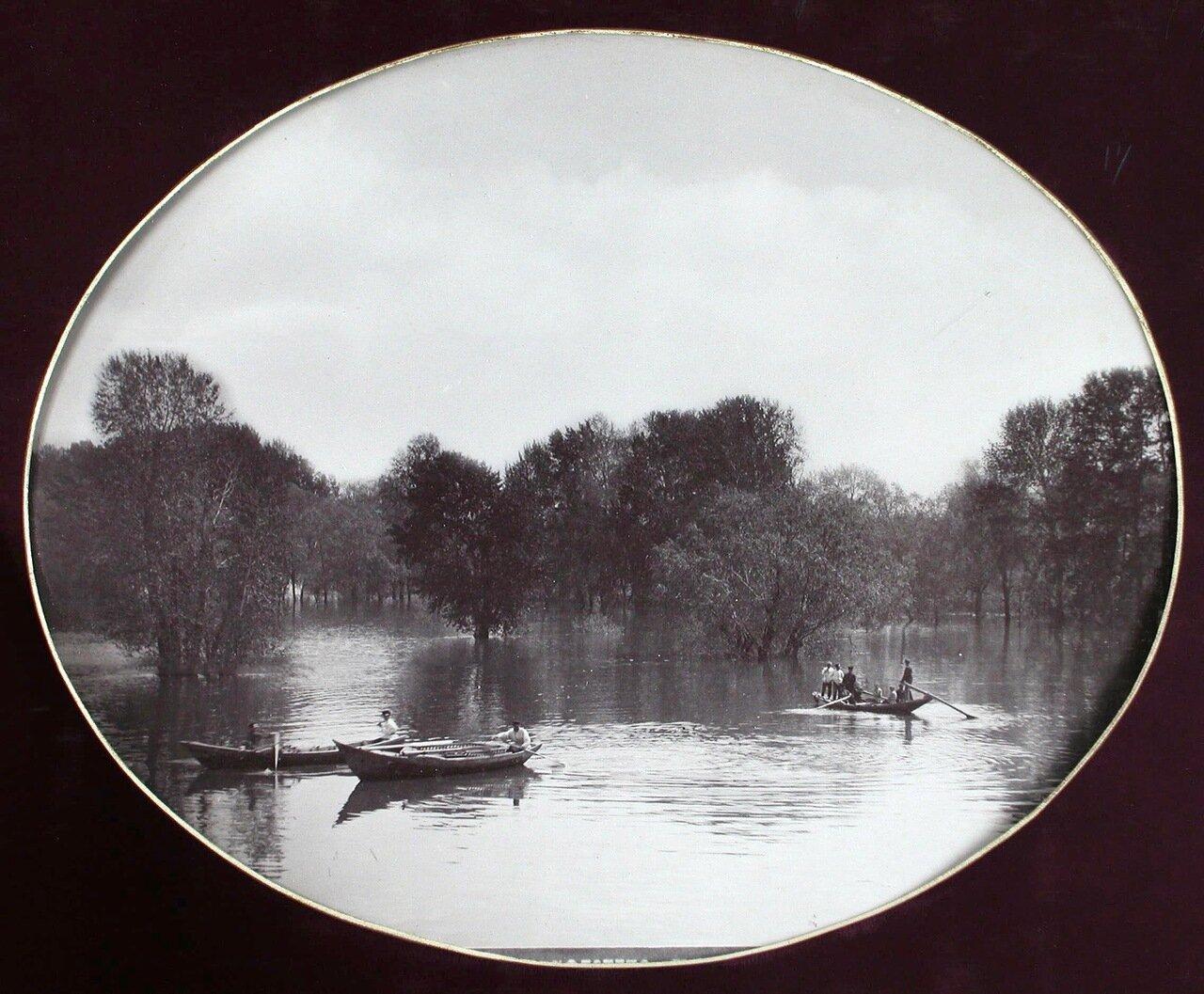 09. Вид реки Самары во время разлива