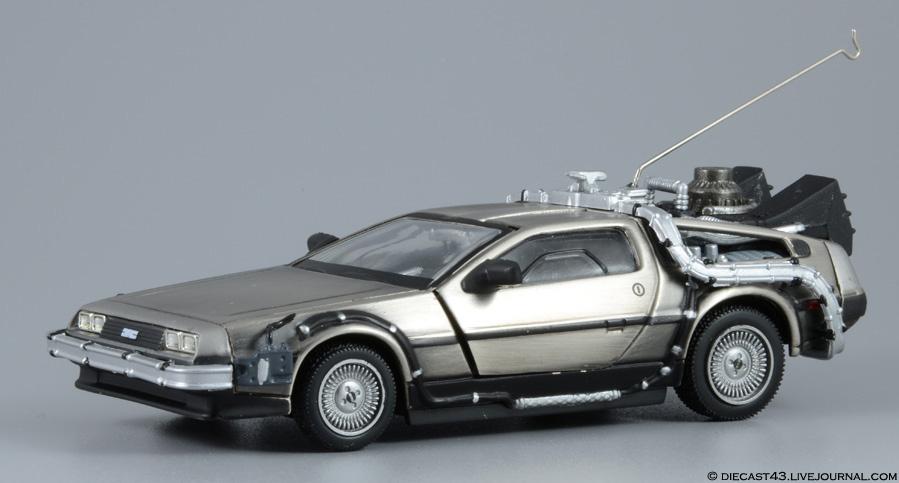"""DeLorean DMC-12 """"Back to the future"""" Norev"""