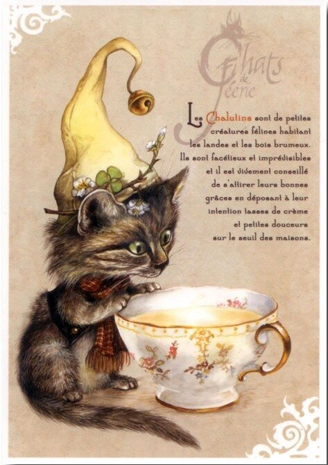 Иллюстратор Severine Pineaux, Faery's cats