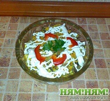 Салат «Курочка-ряба»