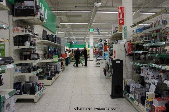 Типичный финский магазин