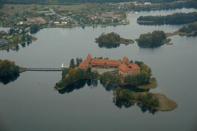 Тракайский замок. Литва