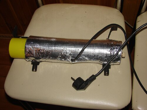 Как сделать обогреватель 220 вольт