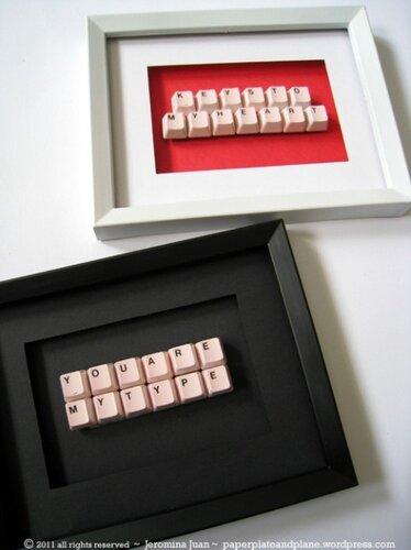 Декор из клавиатуры