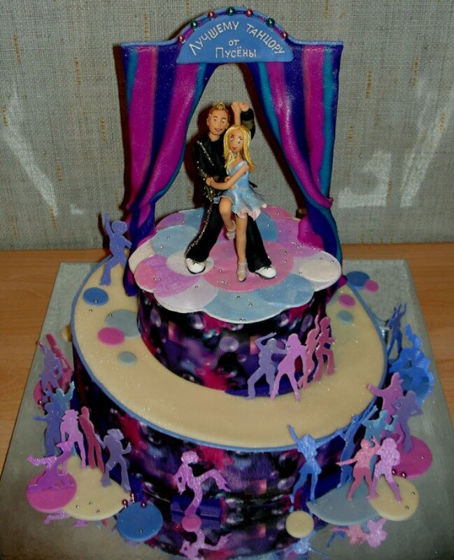 торт для танцора фото