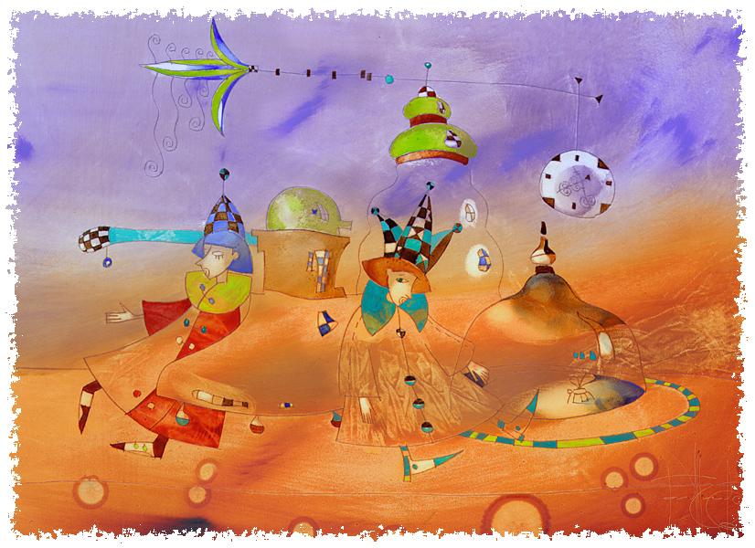 Натюрморт с комаром. Авторы Сабир и Светлана Гаджиевы