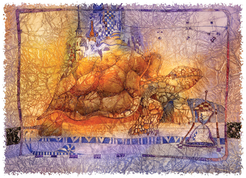 Старая Черепаха. Авторы Сабир и Светлана Гаджиевы