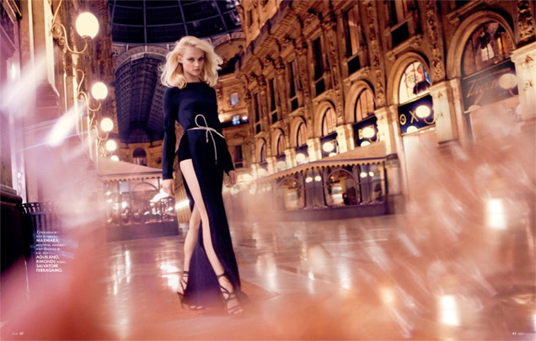 модель Виктория Сасонкина / Viktoriya Sasonkina, фотограф Stefano Galuzzi