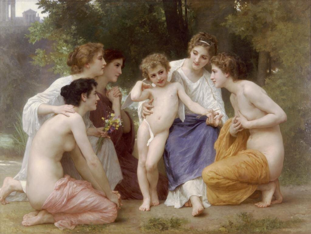 Бугеро, Восхищение, 1897 г.
