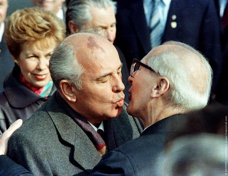 Горбачёв - Хонеккер
