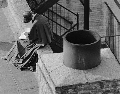 """André Kertész """"On Reading."""""""