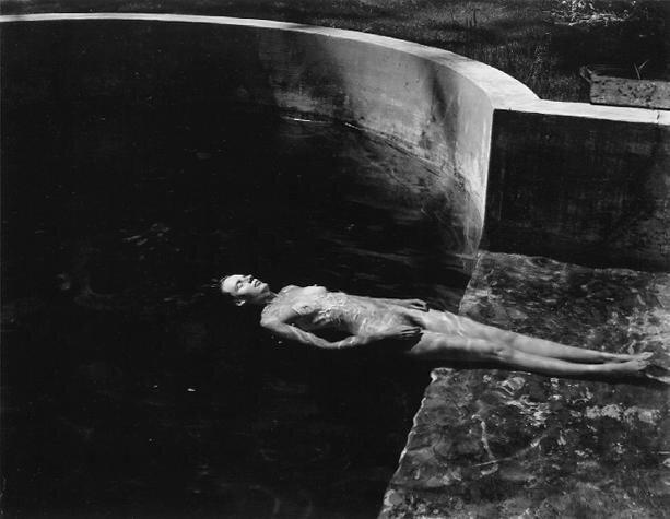 Edward WestonNude Floating1939