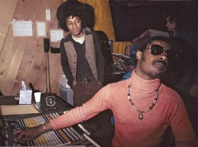 Michael Jackson & Stevie Wonder