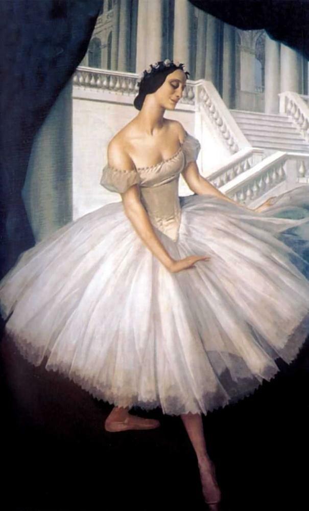 Яковлев; балерина Павлова  Анна. 1922–1924г.