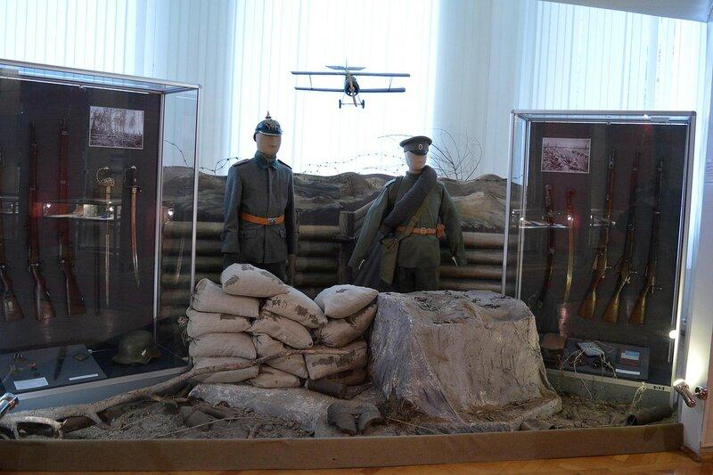 Экспонаты исторического музея