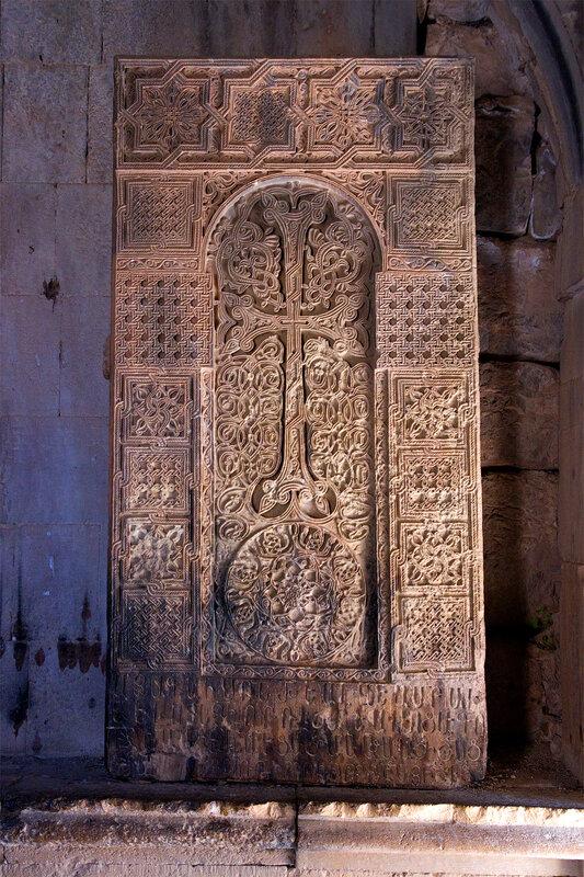 Хачкар в церкви Сурб Карапет