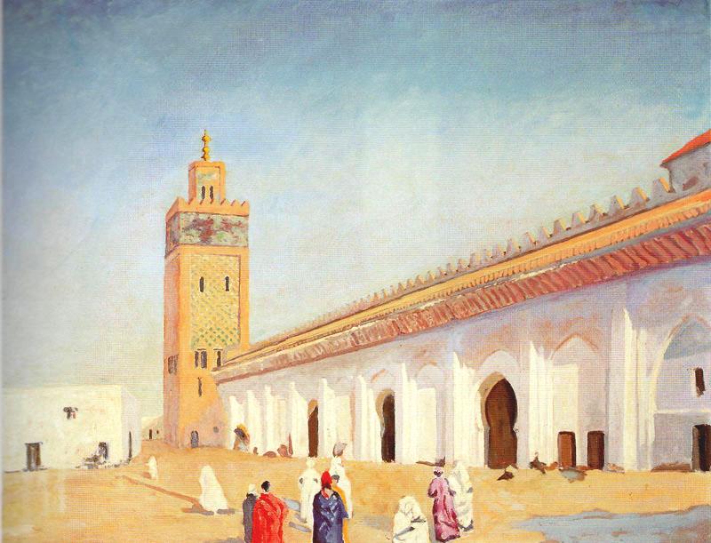 + 1948 Мечеть в Марракеше.jpg