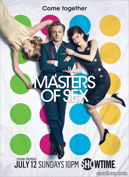 Мастера секса / Masters of Sex - Полный 3 сезон [2015, HDTVRip | HDTV 720p] (Amedia)