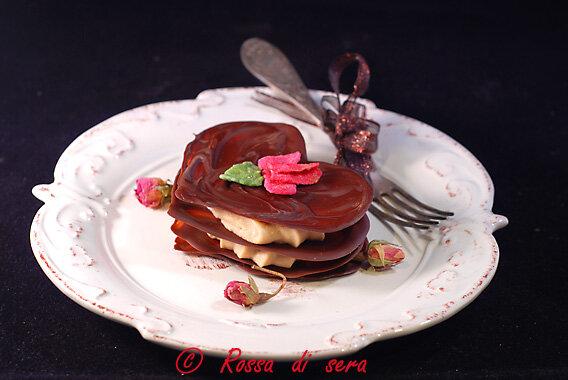 cuori di cioccolato per S. Valentino