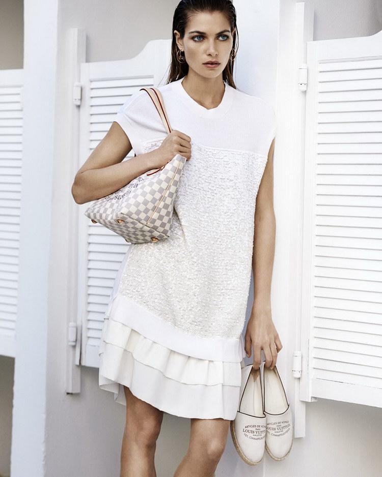 Джессика Харт и Жереми Лаэрт для Louis Vuitton